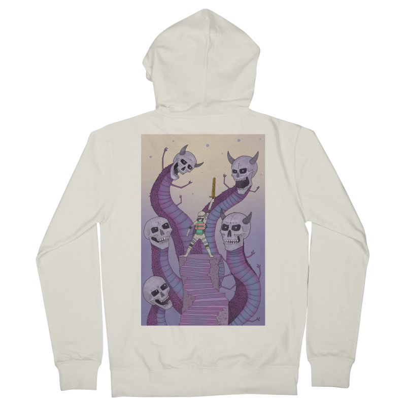 New!! T-Shirt Men's French Terry Zip-Up Hoody by Steven Compton's Artist Shop
