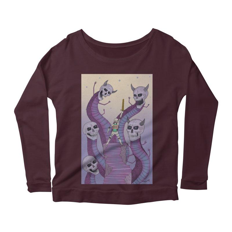 New!! T-Shirt Women's Longsleeve Scoopneck  by Steven Compton's Artist Shop