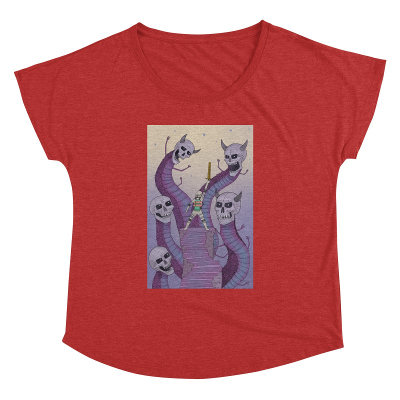 New!! T-Shirt Women's Dolman Scoop Neck by Steven Compton's Artist Shop