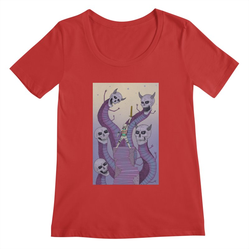 New!! T-Shirt Women's Regular Scoop Neck by Steven Compton's Artist Shop