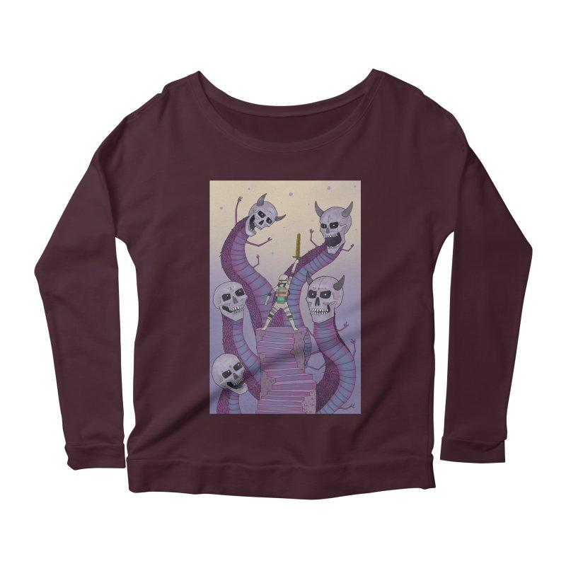 New!! T-Shirt Women's Scoop Neck Longsleeve T-Shirt by Steven Compton's Artist Shop