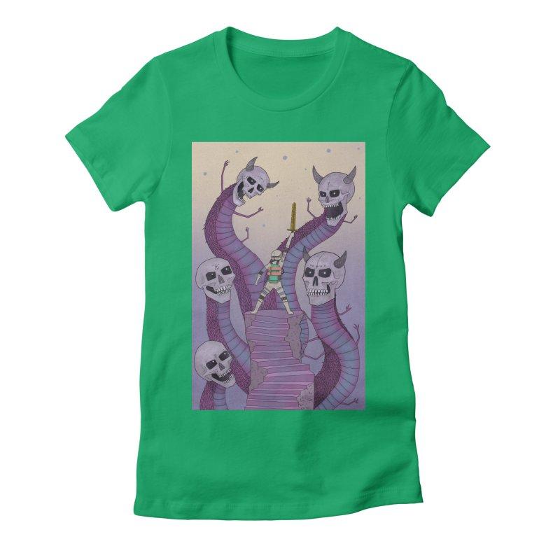 New!! T-Shirt Women's Fitted T-Shirt by Steven Compton's Artist Shop
