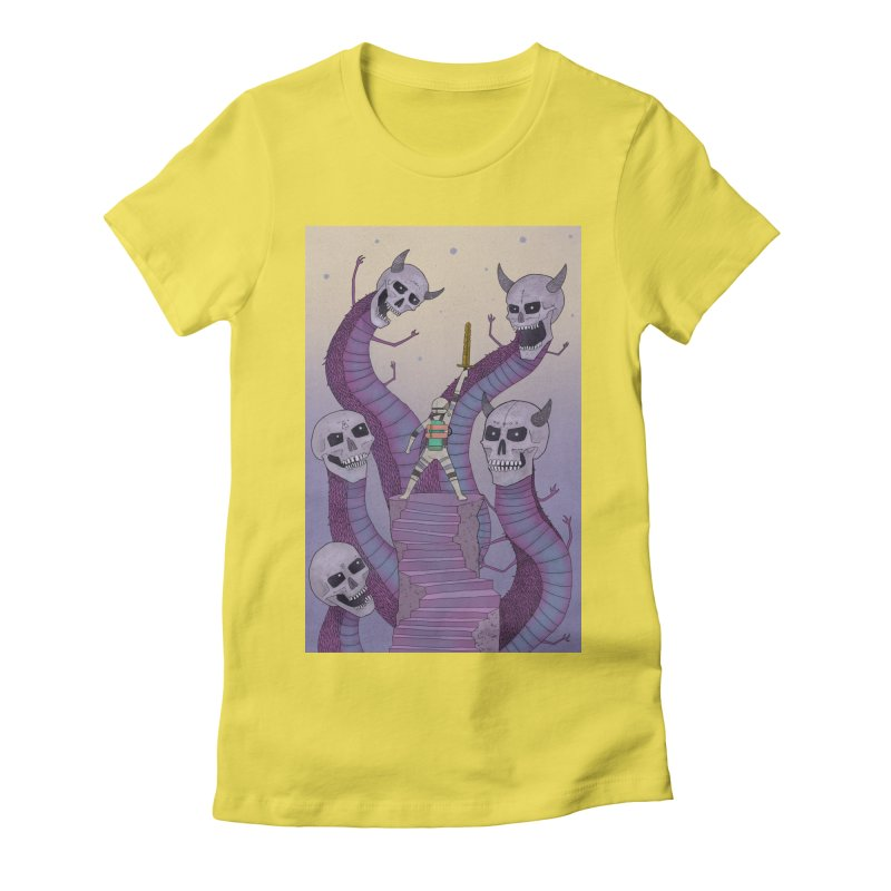 New!! T-Shirt Women's Fitted T-Shirt by Steven Compton's Artist Shop