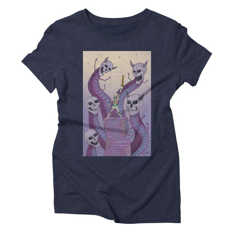 New!! T-Shirt Women's Triblend T-Shirt by Steven Compton's Artist Shop