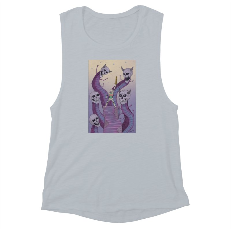New!! T-Shirt Women's Muscle Tank by Steven Compton's Artist Shop