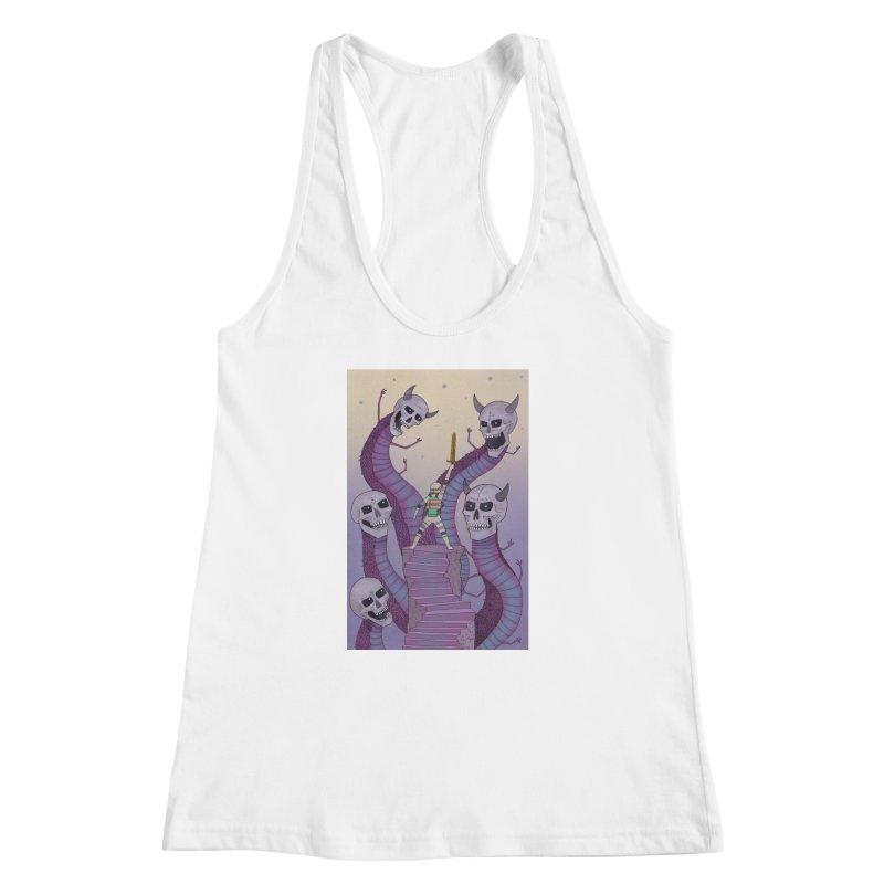 New!! T-Shirt Women's Racerback Tank by Steven Compton's Artist Shop