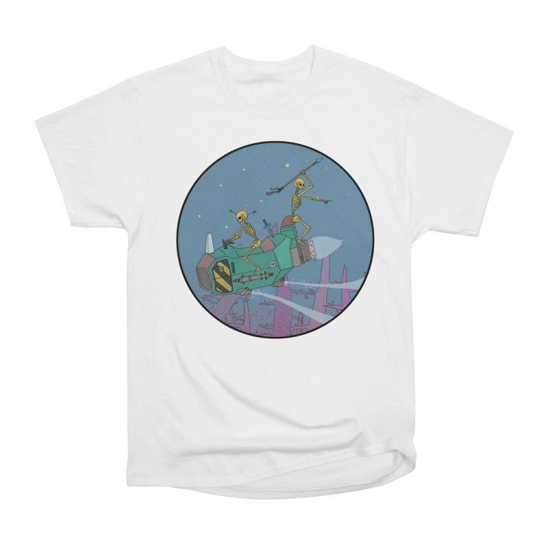 Another New Shirt! Future Space Men's Heavyweight T-Shirt by Steven Compton's Artist Shop