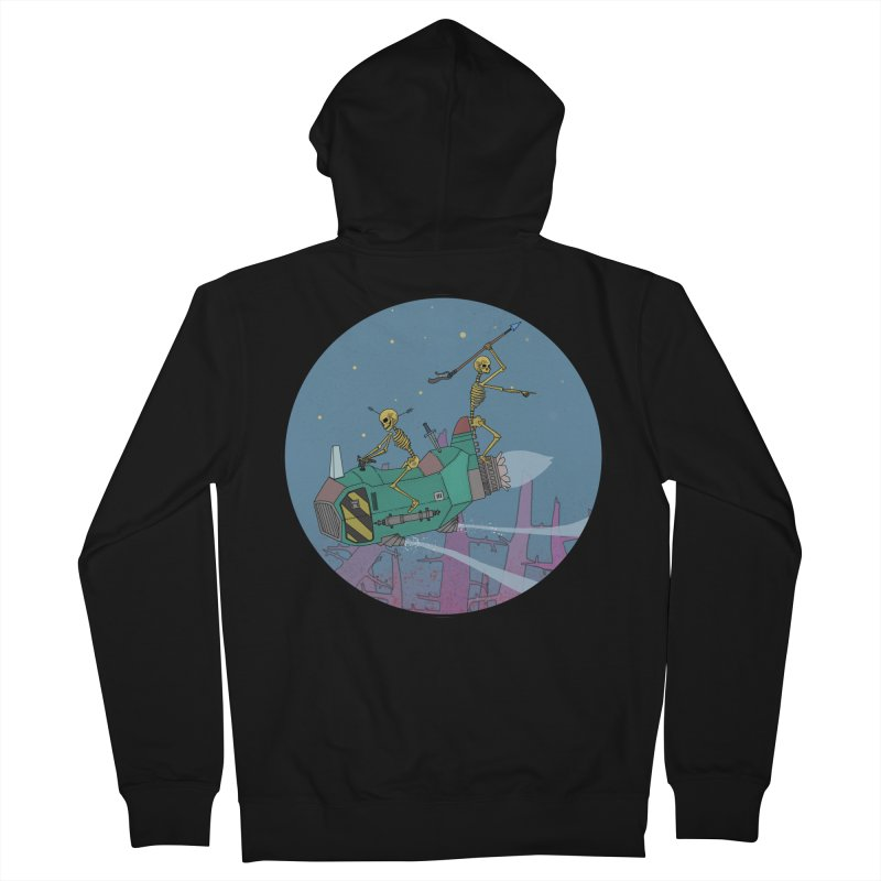 Another New Shirt! Future Space Women's French Terry Zip-Up Hoody by Steven Compton's Artist Shop