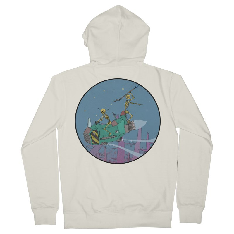 Another New Shirt! Future Space Men's Zip-Up Hoody by Steven Compton's Artist Shop