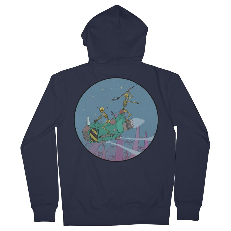 Another New Shirt! Future Space Men's French Terry Zip-Up Hoody by Steven Compton's Artist Shop