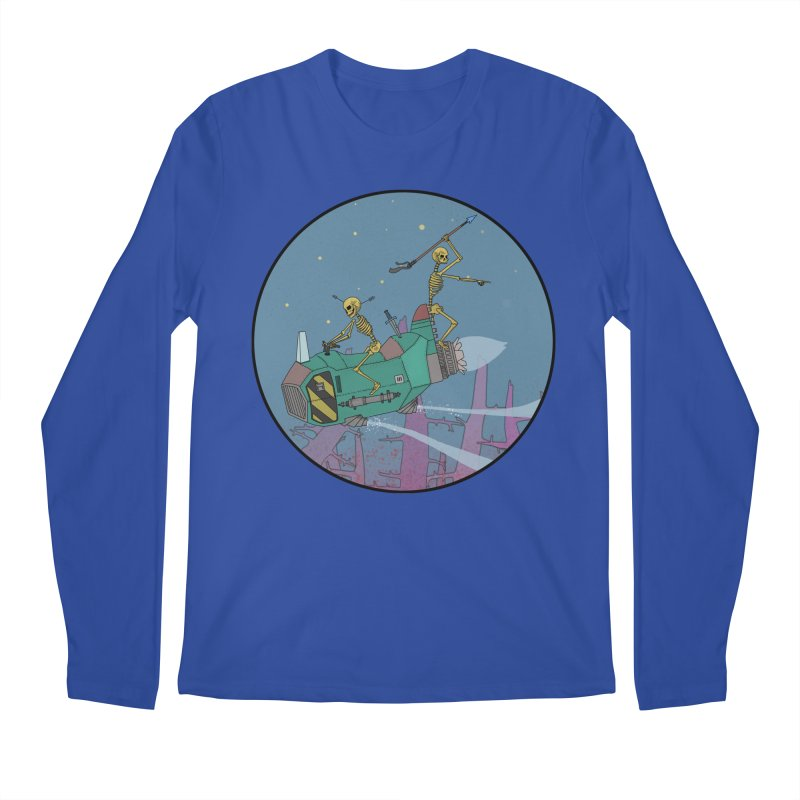 Another New Shirt! Future Space Men's Regular Longsleeve T-Shirt by Steven Compton's Artist Shop