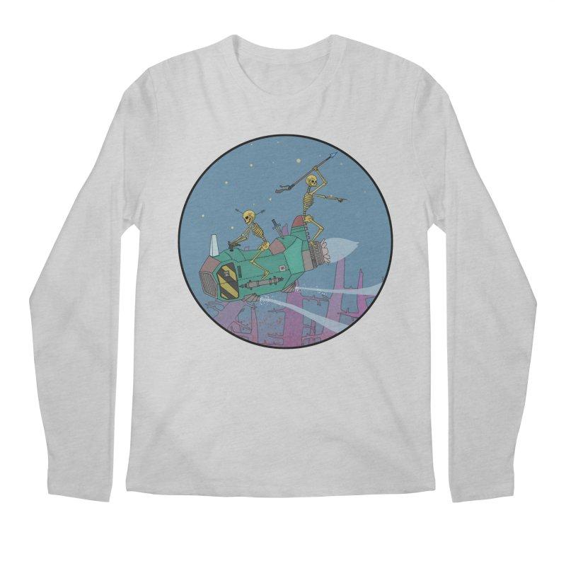 Another New Shirt! Future Space Men's Longsleeve T-Shirt by Steven Compton's Artist Shop