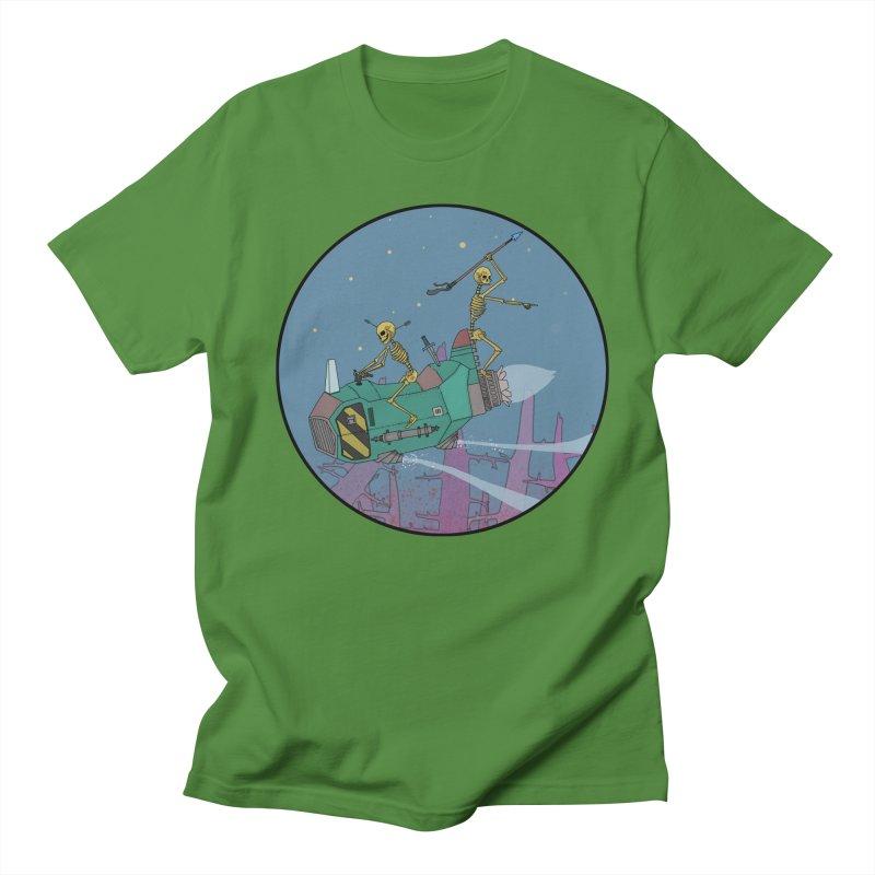 Another New Shirt! Future Space Men's Regular T-Shirt by Steven Compton's Artist Shop