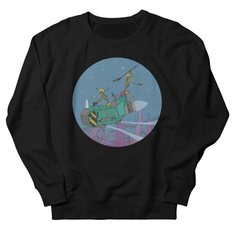 Another New Shirt! Future Space Men's Sweatshirt by Steven Compton's Artist Shop