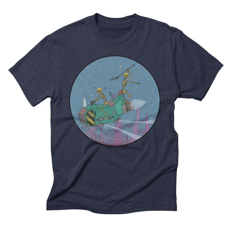 Another New Shirt! Future Space Men's Triblend T-Shirt by Steven Compton's Artist Shop