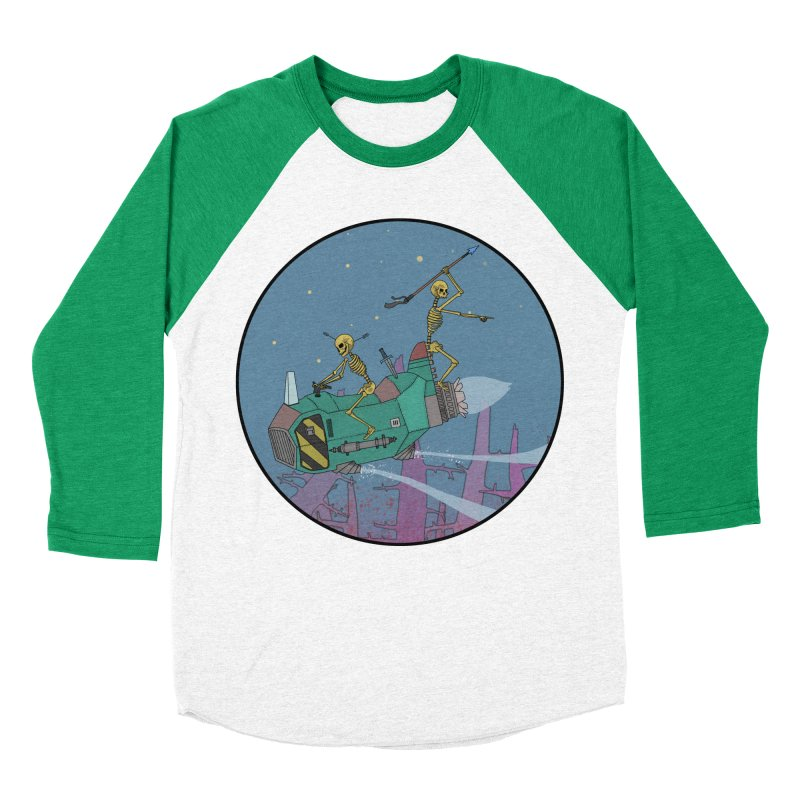 Another New Shirt! Future Space Women's Baseball Triblend Longsleeve T-Shirt by Steven Compton's Artist Shop