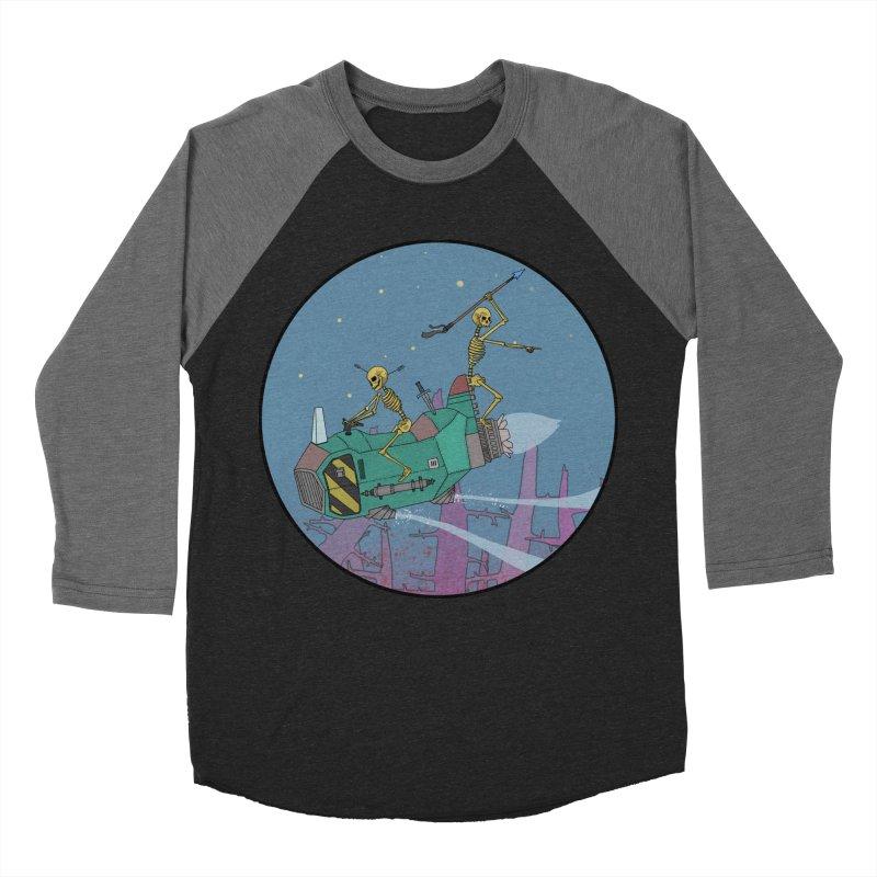 Another New Shirt! Future Space Men's Baseball Triblend Longsleeve T-Shirt by Steven Compton's Artist Shop