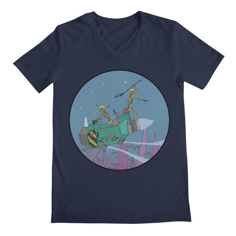 Another New Shirt! Future Space Men's Regular V-Neck by Steven Compton's Artist Shop