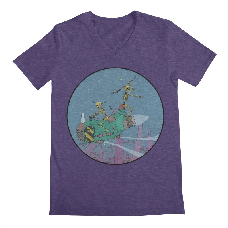 Another New Shirt! Future Space Men's Regular V-Neck by Steven Compton's Artist Shop