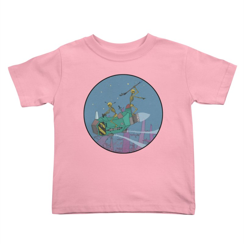 Another New Shirt! Future Space Kids Toddler T-Shirt by Steven Compton's Artist Shop