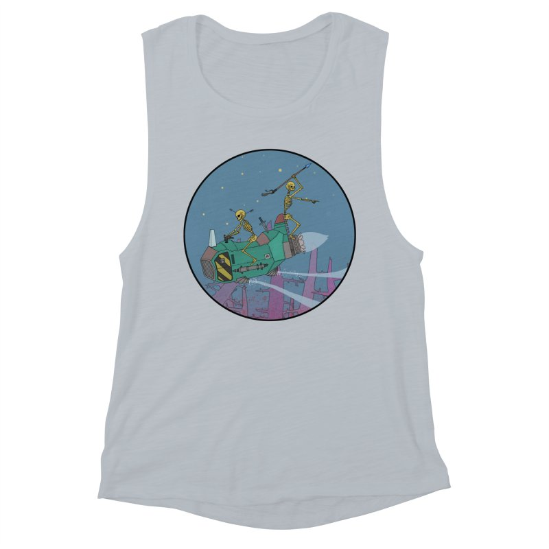 Another New Shirt! Future Space Women's Muscle Tank by Steven Compton's Artist Shop
