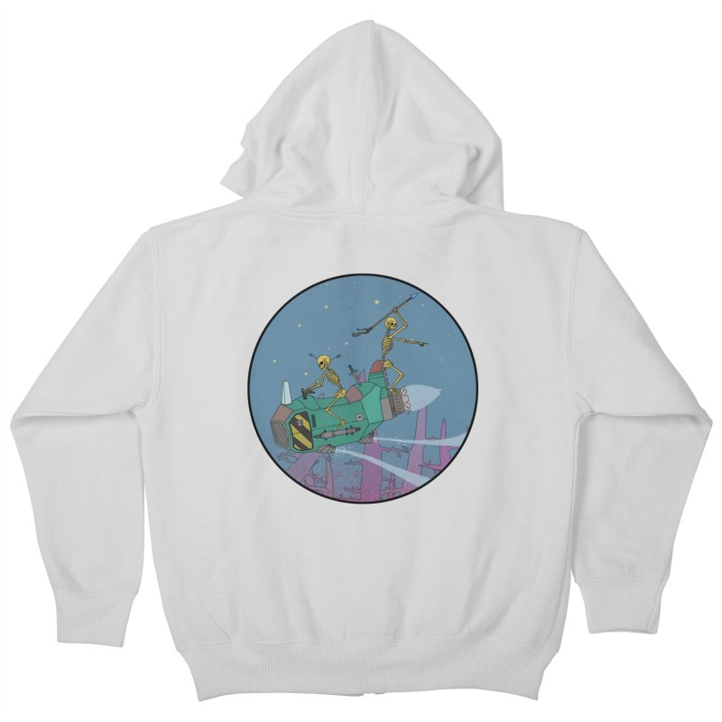 Another New Shirt! Future Space Kids Zip-Up Hoody by Steven Compton's Artist Shop
