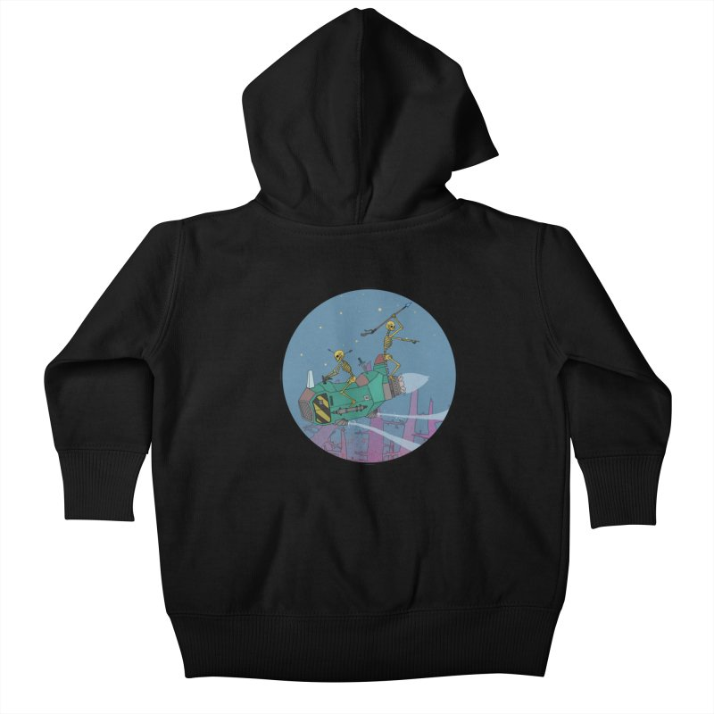Another New Shirt! Future Space Kids Baby Zip-Up Hoody by Steven Compton's Artist Shop