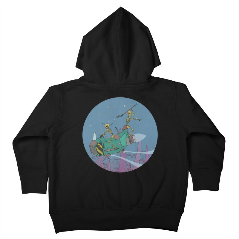 Another New Shirt! Future Space Kids Toddler Zip-Up Hoody by Steven Compton's Artist Shop