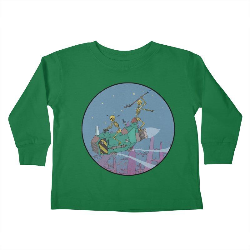 Another New Shirt! Future Space Kids Toddler Longsleeve T-Shirt by Steven Compton's Artist Shop