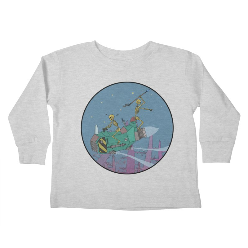 Another New Shirt! Future Space Kids Toddler Longsleeve T-Shirt by Steven Compton's Artist Shop