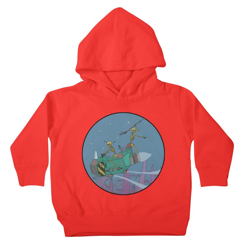 Another New Shirt! Future Space Kids Toddler Pullover Hoody by Steven Compton's Artist Shop