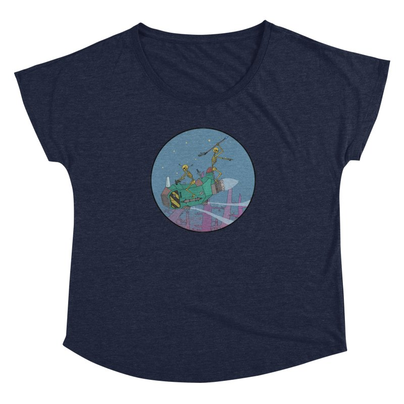 Another New Shirt! Future Space Women's Dolman by Steven Compton's Artist Shop