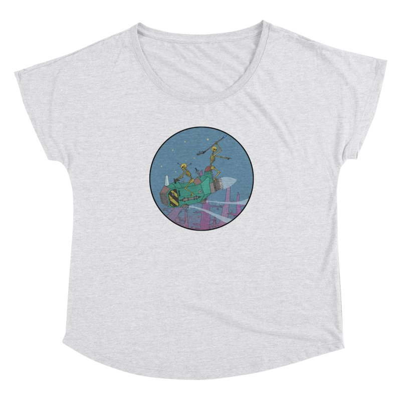 Another New Shirt! Future Space Women's Dolman Scoop Neck by Steven Compton's Artist Shop