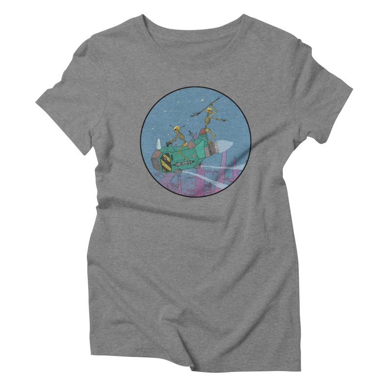 Another New Shirt! Future Space Women's Triblend T-Shirt by Steven Compton's Artist Shop