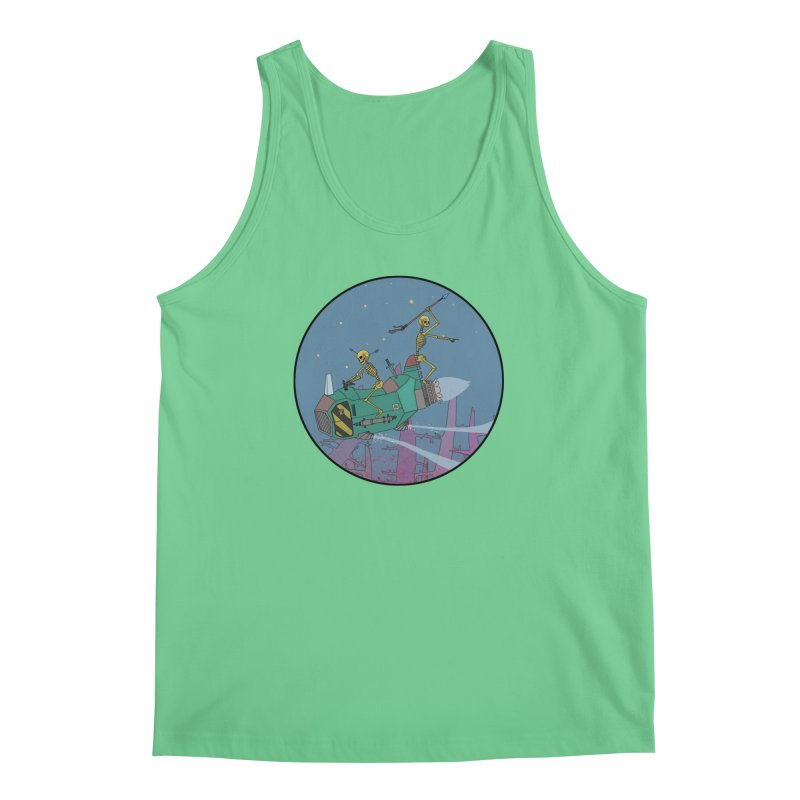 Another New Shirt! Future Space Men's Tank by Steven Compton's Artist Shop