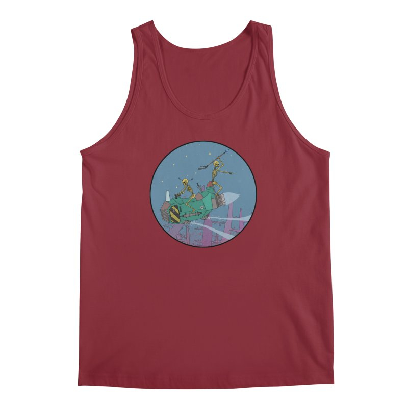 Another New Shirt! Future Space Men's Regular Tank by Steven Compton's Artist Shop