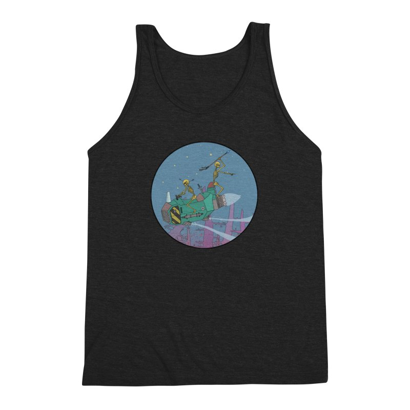 Another New Shirt! Future Space Men's Triblend Tank by Steven Compton's Artist Shop