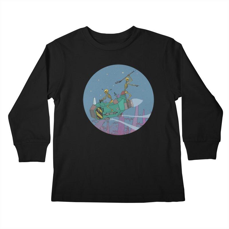Another New Shirt! Future Space Kids Longsleeve T-Shirt by Steven Compton's Artist Shop