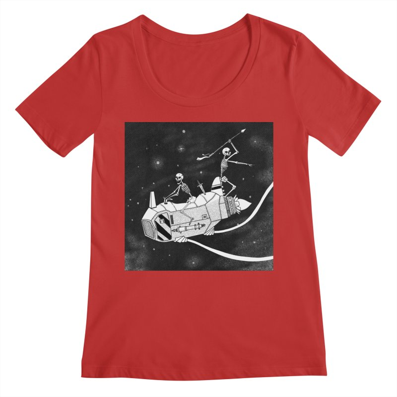 Cool shirt Women's Regular Scoop Neck by Steven Compton's Artist Shop