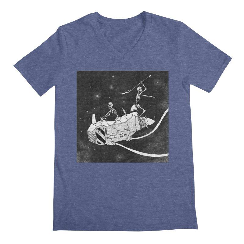 Cool shirt Men's Regular V-Neck by Steven Compton's Artist Shop