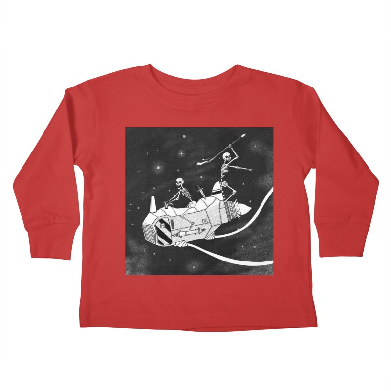 Cool shirt Kids Toddler Longsleeve T-Shirt by Steven Compton's Artist Shop