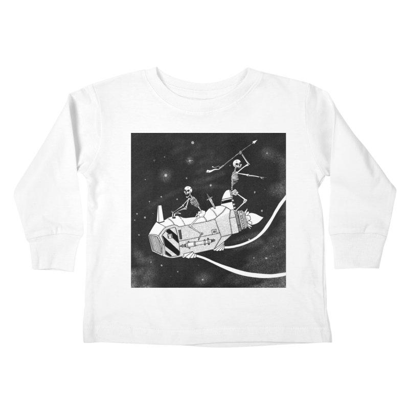 Cool shirt Kids Toddler Longsleeve T-Shirt by Steven Compton's Artist Shop