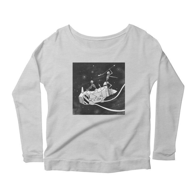 Cool shirt Women's Scoop Neck Longsleeve T-Shirt by Steven Compton's Artist Shop