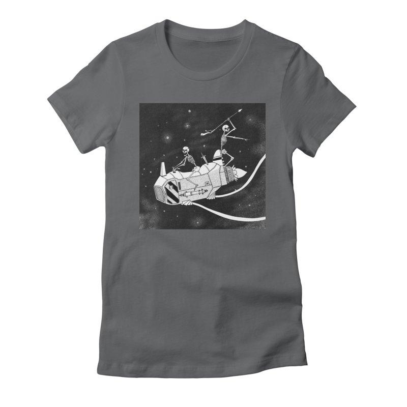 Cool shirt Women's Fitted T-Shirt by Steven Compton's Artist Shop