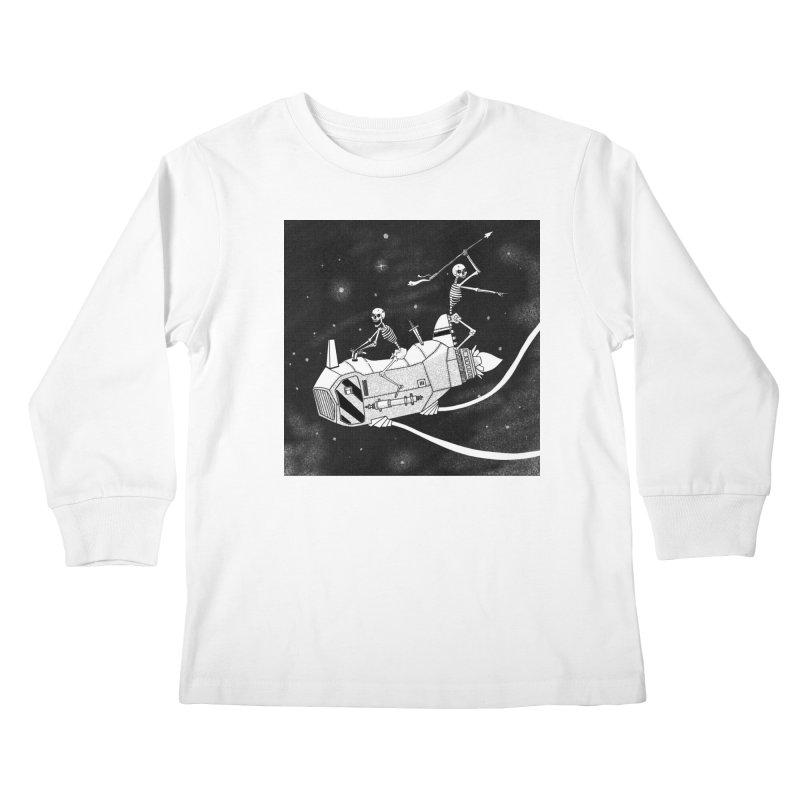 Cool shirt Kids Longsleeve T-Shirt by Steven Compton's Artist Shop
