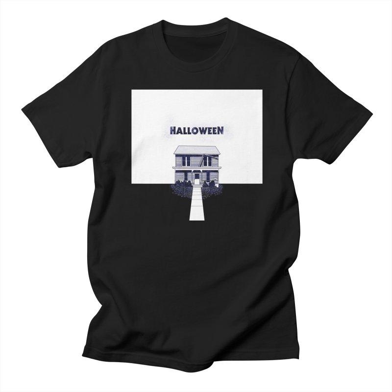Halloween Men's Regular T-Shirt by Steven Compton's Artist Shop