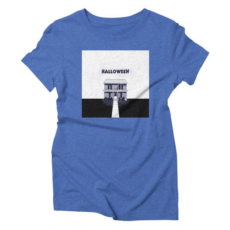 Halloween Women's Triblend T-Shirt by Steven Compton's Artist Shop