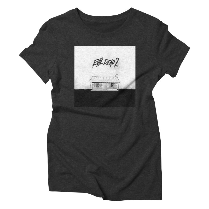 Evil dead 2 Women's Triblend T-Shirt by Steven Compton's Artist Shop