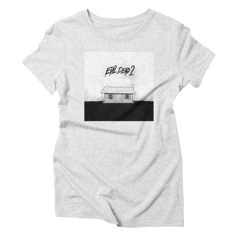 Evil dead 2 Women's T-Shirt by Steven Compton's Artist Shop