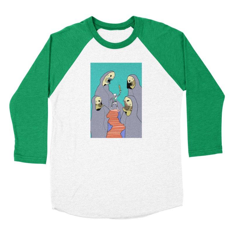 Future Space Men's Baseball Triblend Longsleeve T-Shirt by Steven Compton's Artist Shop